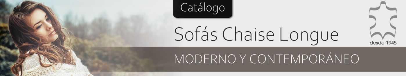 Sofás Chaislongue Modernas
