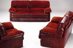 sofas de piel contemp años 80