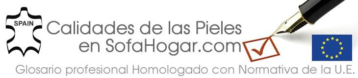 HOMOLOGACION DE PIELES PARA SOFAS EN SOFAHOGAR